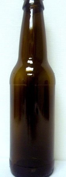 Amber (Brown) 22 oz Beer Bottles - 12 per Case