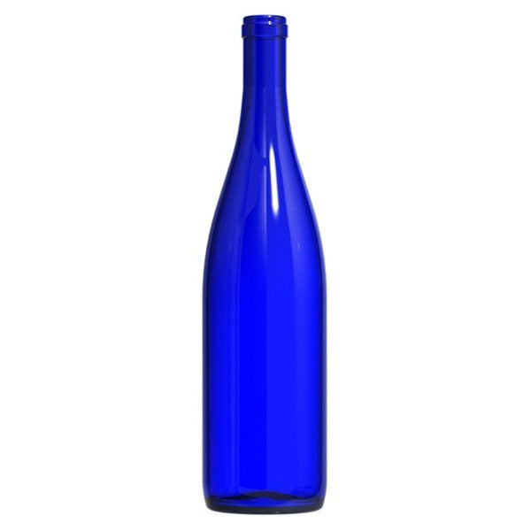 Blue - Hock Style Wine Bottles - 750ml - 12 per Case