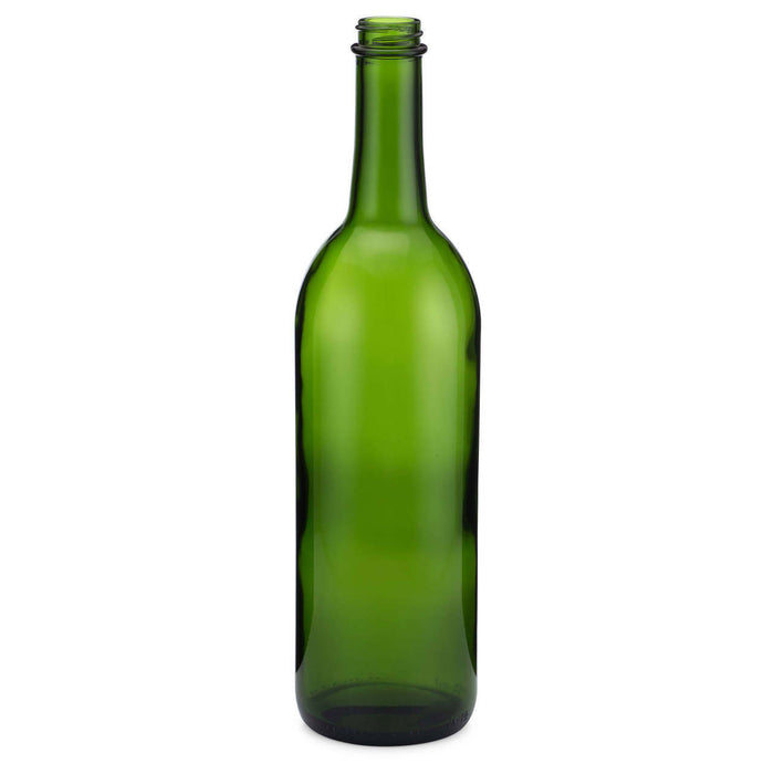 Green - Bordeaux Style Screw Top - 750ml - 12 per Case