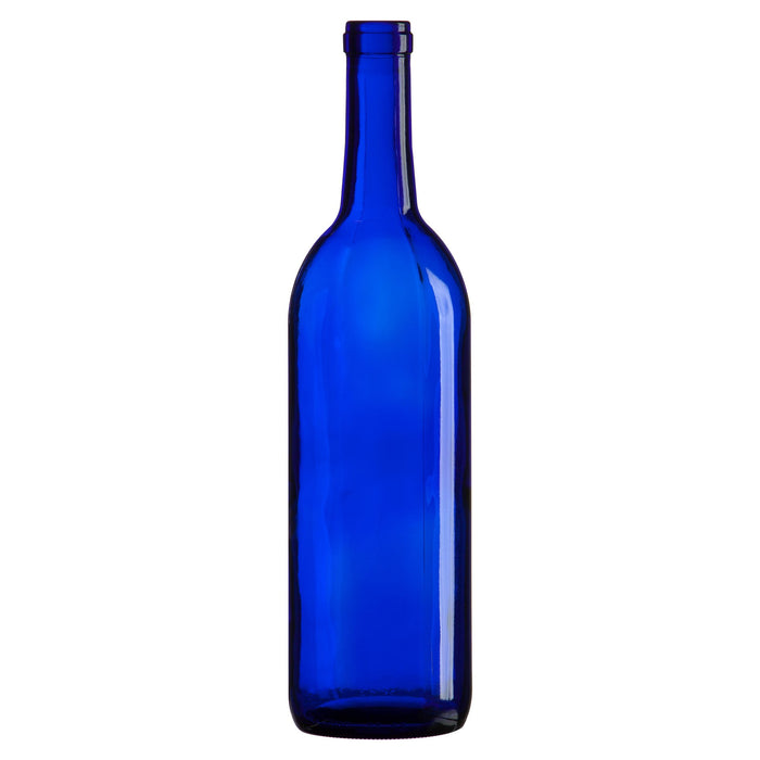 Blue - Bordeaux Style Wine Bottles - 750ml - 12 per Case
