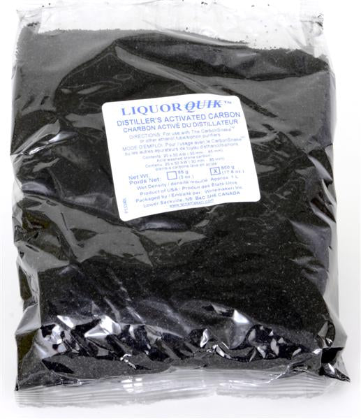 Granular Activated Carbon - 500 Gram - 17.6 oz Package