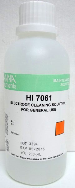 Ph Meter Cleaning Solution 230ml Hi7061
