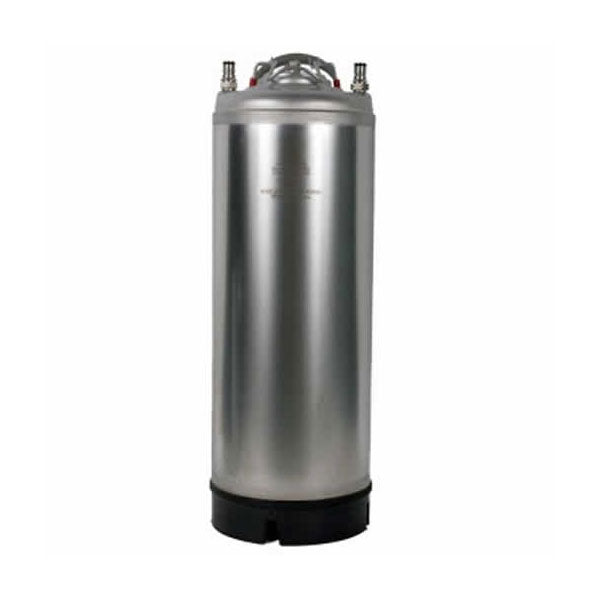 5 Gallon Stainless Steel Ball Lock Keg w/ Metal Strap Handle