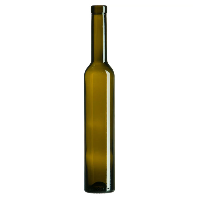 Bellissima Ice Wine Bottles - Antique Green - 12 per Case Cork Finish