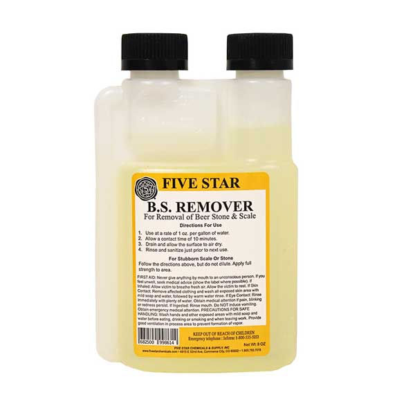 Five Star Beer Stone Remover - 8 oz