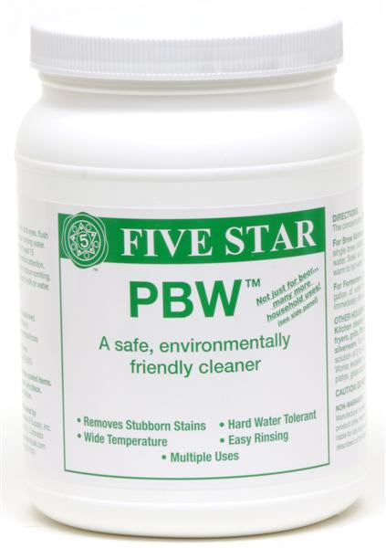 PBW - Powdered Brewery Wash - 4 Lb. Container