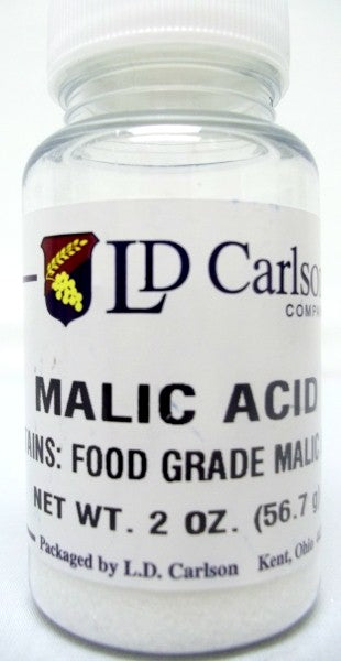 Malic Acid - 2oz Package
