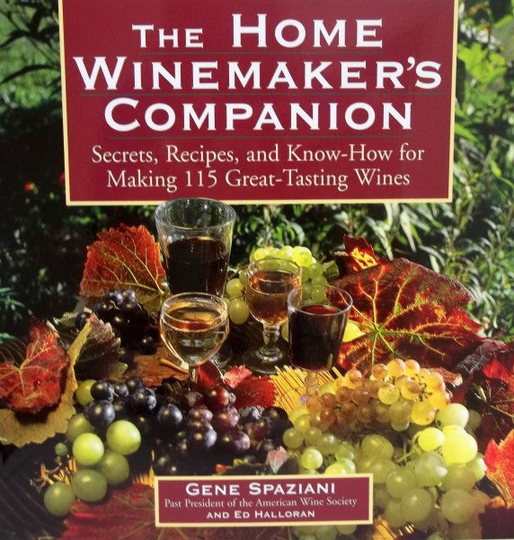 The Home Winemakers Companion Book
