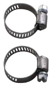 Hose Clamps for Bronze Head Transfer Pump - Set of 2