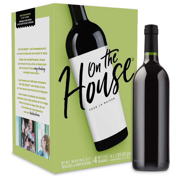 Merlot Wine Making Ingredient Kit by On the House