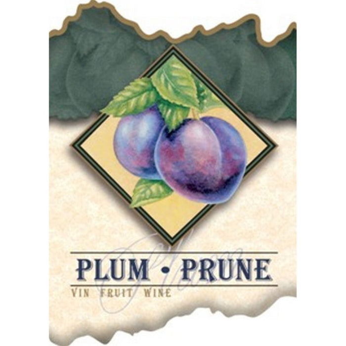 Plum Wine Labels - 30 Per Package