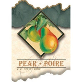 Pear Wine Labels - 30 Per Package