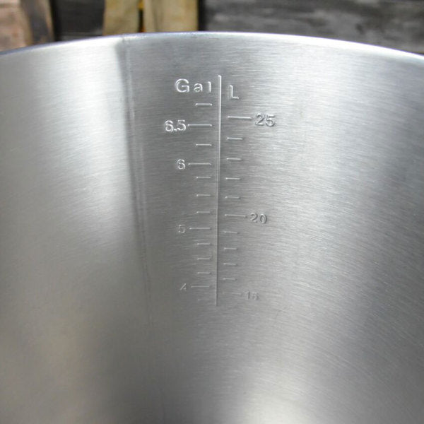 7.5 Gallon Anvil Stainless Steel Bucket Fermentor for Wine and Beer Fermentation