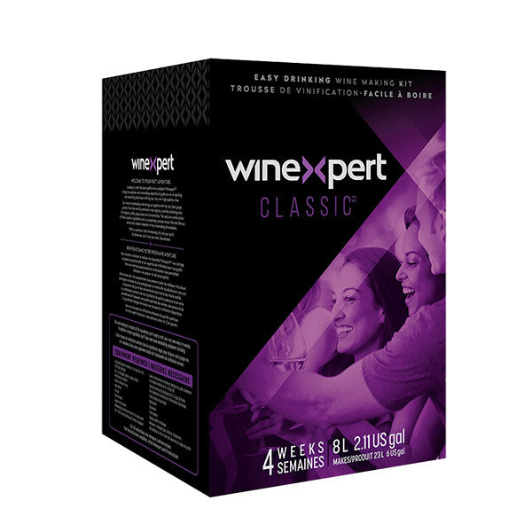 California White Zinfandel Wine Ingredient Kit - Winexpert Classic