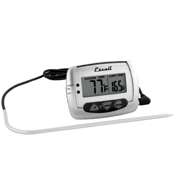 Digital Probe Thermometer with Alarm - DH2