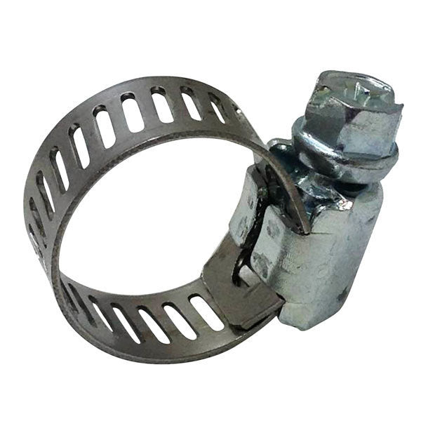 Small Hose Clamp - Stainless Steel (Worm Clamp)