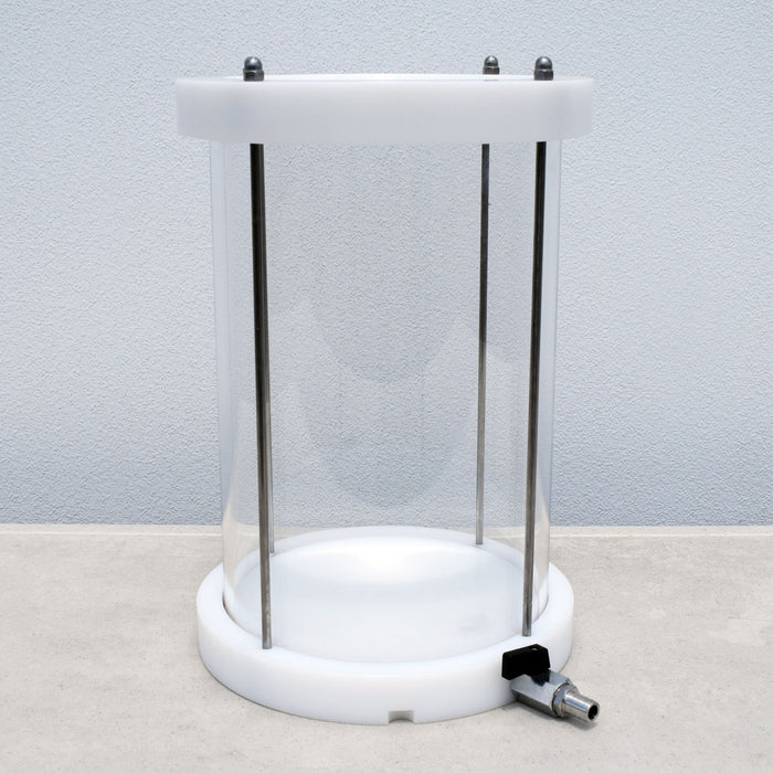 Replacement Pyrex Vessel for the Enolmaster 4-Head Bottle Filler - NO LID