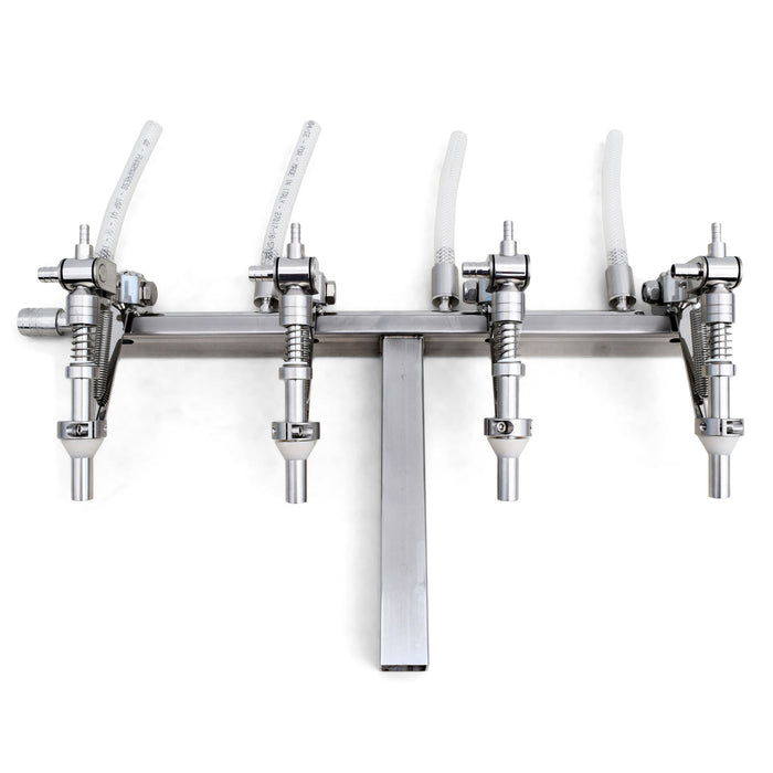 Enolmaster 4 Head Wine T-Bar Assembly for Wine and Dry Spirits - Low Viscosity