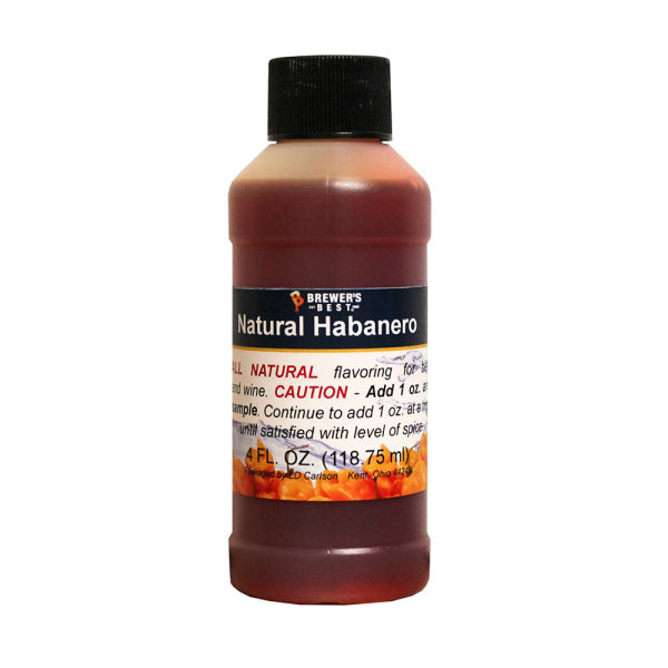 Habanero Natural Flavoring 4 oz