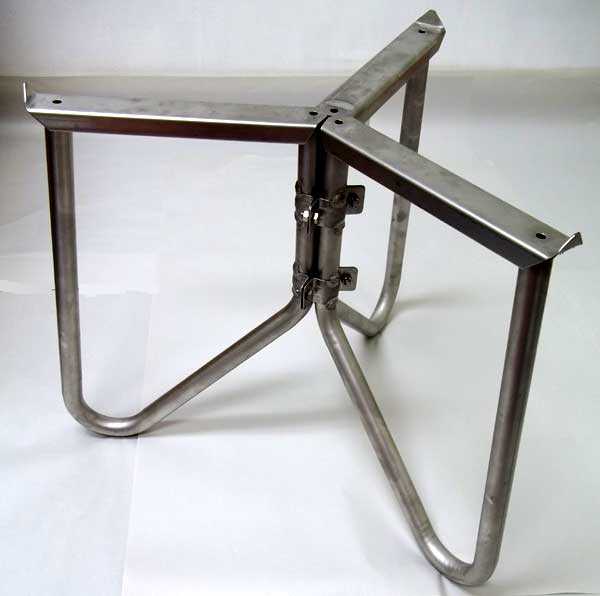 Stainless Steel Support Stand - 31 in / 800 mm - Works with 400L, 500L, 600L, and 700L Marchisio Variable Capacity Tanks