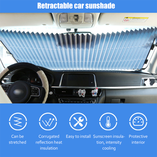 Folding windshield window cover for all kinds of cars