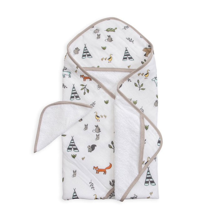 Little Unicorn - Hooded Towel Set
