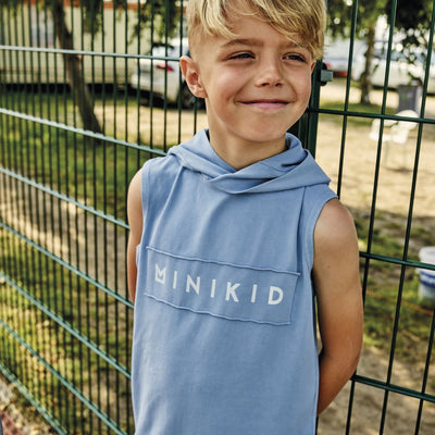 MiniKid | Lagoon Blue No Sleeve