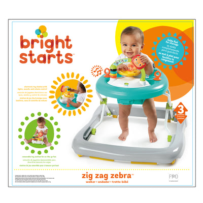 Bright Start | Zig Zag Zebra Walker