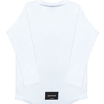 MiniKid | Long Sleeve Classics Off White Tee