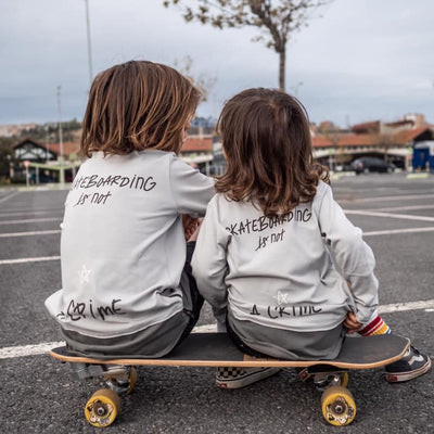 MiniKid | Long Sleeve Sk8 is not a Crime