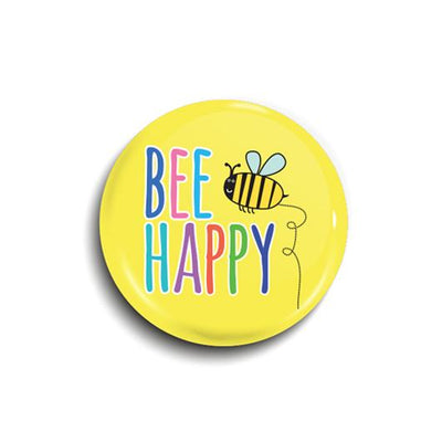 Bee Happy Badge