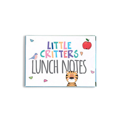 Little Critter Lunch Notes