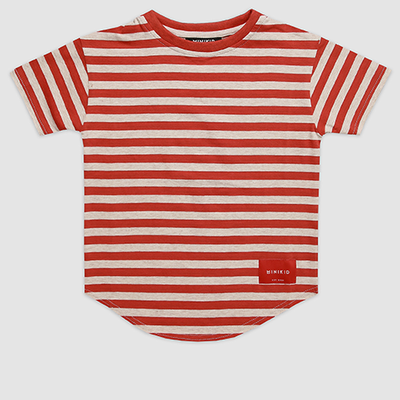 Moroccan Brick Striped T-Shirt