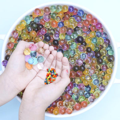 No Nasties | Rainbow Sensory Play Water Beads