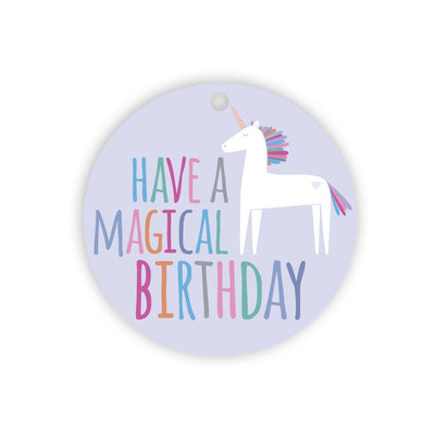 Magical Birthday gift tag