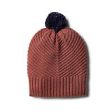 W&F Chilli Marle Knitted Chevron Hat
