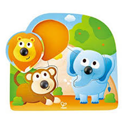 Hape | Big Nose Jungle Puzzle