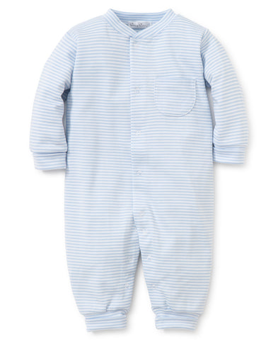 Kissy Kissy Blue Stripe Playsuit