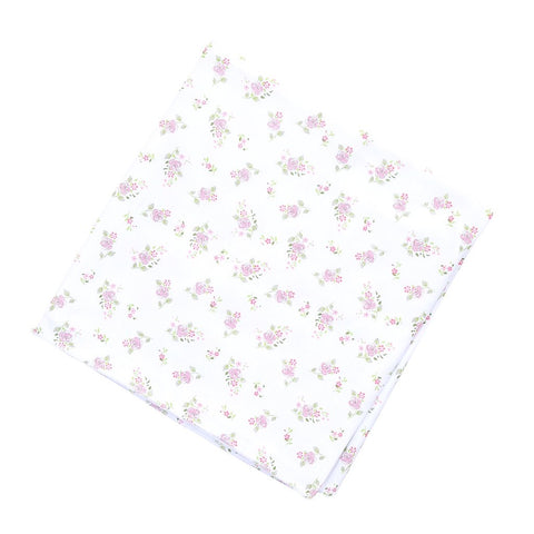 Magnolia Baby Essentials Hopes Rose Swaddle Blanket