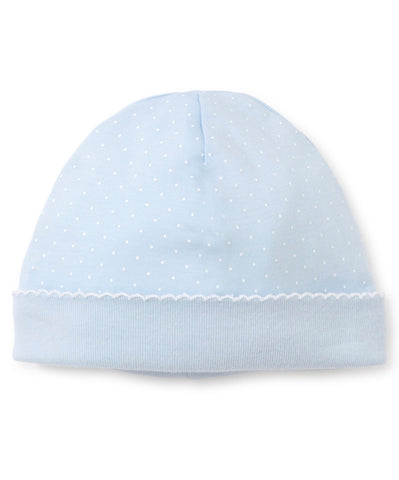 Kissy Kissy Blue Dot Hat