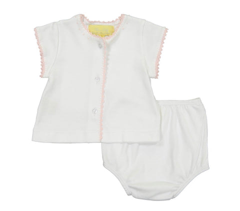 Pixie Lily Diaper Set-Pink