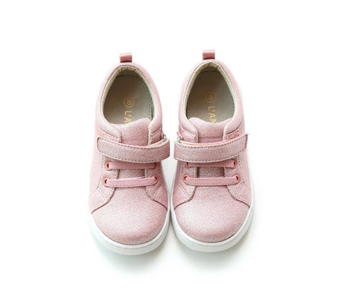 PRESALE Lamour Natalie Metallic Playground Sneaker-Pink (Toddler & Youth)