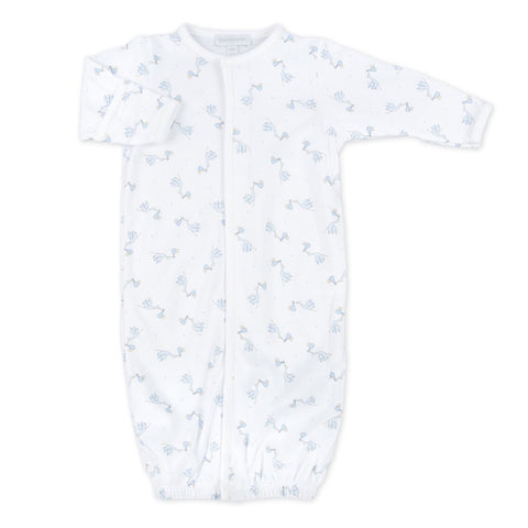 Magnolia Baby Essentials Worth The Wait Printed Converter Gown-Blue