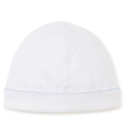 Kissy Kissy White/Blue Dot Hat