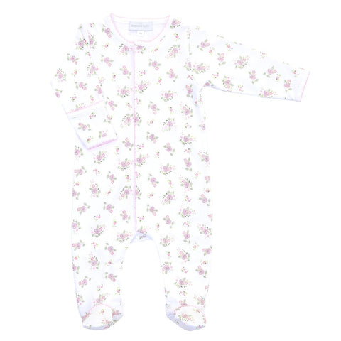 Magnolia Baby Essentials Hopes Rose Footie