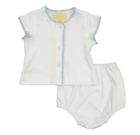 Pixie Lily Diaper Set-Blue