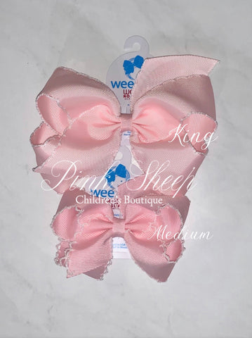 Wee Ones Moonstitch Bow- Medium (More Colors)