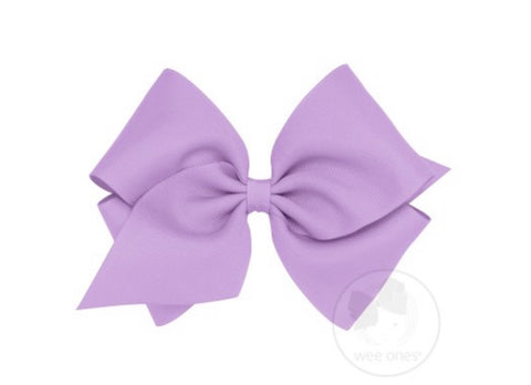 Wee Ones Grosgrain Bow- Mini King (More Colors)