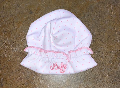 "Magnolia Baby ""Baby"" Girls Hat"