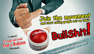 Talkie Toys Products That's Bullshit! Button